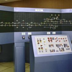 Poste tout Relais à transit Souple (PRS) destiné à la formation des agents au sein de l'Ecole Nationale de l'Equipement SNCF à Nanterre.
