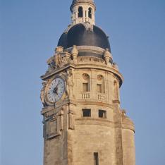 Gare de La Rochelle. Vue du campanile.