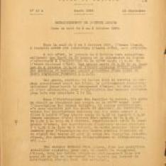 Ordre de servicen° 43 A relatif au passage à l'heure légale dans la nuit du 2 au 3 octobre 1926.